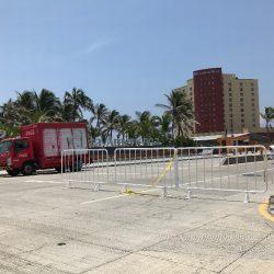 Continúan cierres viales en Boca del Río