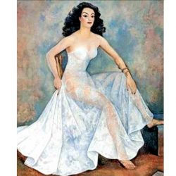 Tremendo lío por un cuadro de María Félix que tenía César Duarte