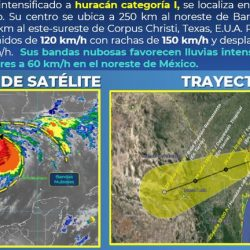 Hanna ya es huracán categoría I