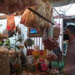 Mercados de Veracruz: sanitizados y funcionando