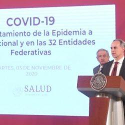 7 estados mantienen un incremento de casos de Covid; mortalidad, sigue a la baja: Ssa