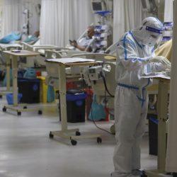 Se incendia hospital covid en la India; hay 5 muertos