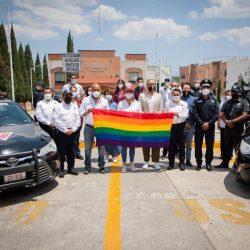 Crean unidad de Policía Incluyente para proteger a comunidad LGBTTTIQ+