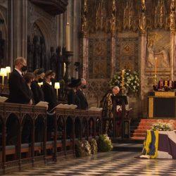 Sepultan cuerpo del príncipe Felipe en la Bóveda Real