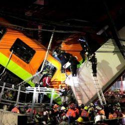 """""""Escuchamos un tronido y nos pegamos contra el techo"""": sobreviviente del accidente en la Línea 12 del Metro"""