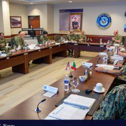 Se reúnen Estados Mayores de la Armada de México y la de EU
